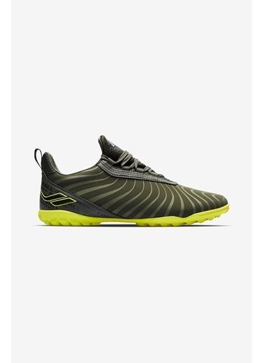 Lescon Ares 001 Haki Erkek Halı Saha Ayakkabısı Yeşil